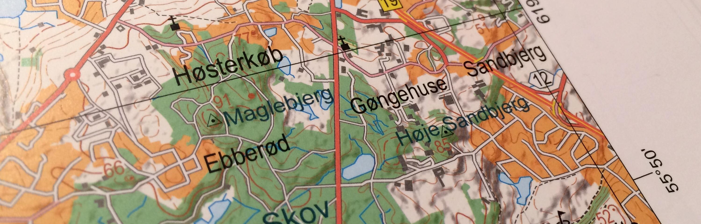 Forbedret Topografisk Atlas Fra Trap Danmark Danskebjerge Dk